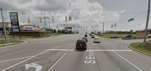 Is this a complete street? Image: Google Maps via Urban Indy