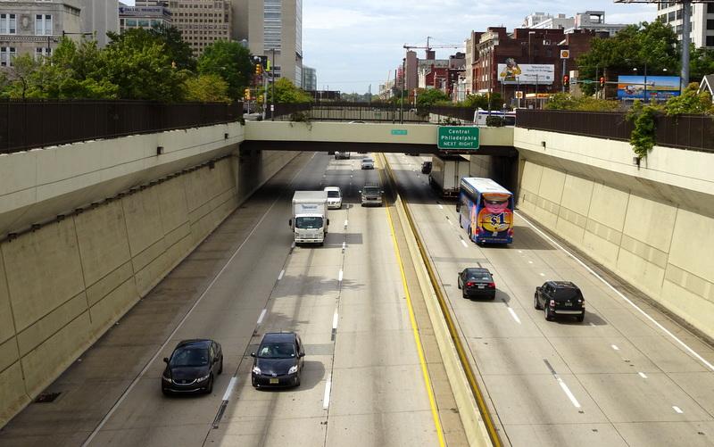 Chinatown residents want to see Philadelphia's Vine Street Expressway capped. Photo: Philadelphia Encyclopedia